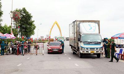 Bắc Ninh: Các huyện Yên Phong và Lương Tài được nới lỏng giãn cách xã hội