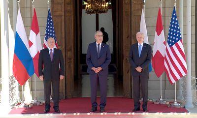 Hội nghị thượng đỉnh Mỹ-Nga: Hé lộ những hình ảnh đầu tiên