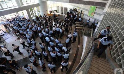 Toà báo Apple Daily của Hong Kong lao đao vì bị