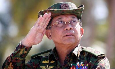 Thống tướng Myanmar công du nước ngoài đến Nga dự hội nghị