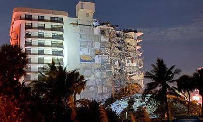 Hiện trường toà nhà 12 tầng đột ngột sập xuống, gần 100 người đang bị vùi trong đống đổ nát