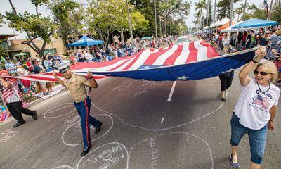 Người Mỹ đổ ra đường ăn mừng lễ kỷ niệm 245 năm ngày Quốc khánh