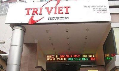 Công ty chứng khoán Trí Việt loại 5 mã cổ phiếu ra danh mục chứng khoán giao dịch ký quỹ: Đâu là lý do?