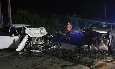Tin tức tai nạn giao thông ngày 23/8: Xe Chánh Văn phòng huyện uỷ và xe bán tải tông trực diện vào nhau