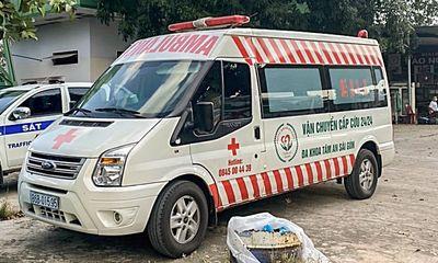 Bình Thuận: Phát hiện trường hợp xe cấp cứu chở người trái phép từ TP.HCM