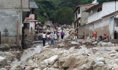 Mưa lũ ở Venezuela, ít nhất 16 người thiệt mạng