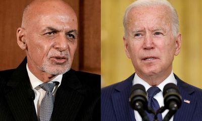 Hé lộ cuộc gọi cuối của Tổng thống Biden và ông Ghani trước khi Taliban tiến vào Kabul
