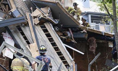 Nổ lớn làm rung chuyển toà nhà chung cư ở ngoại ô Mỹ, 4 người bị thương