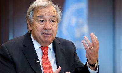 Tổng thư ký Liên hợp quốc gọi kỳ vọng giải quyết vấn đề Afghanistan là