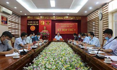 UBKT Tỉnh ủy Phú Thọ kỷ luật Đảng đối với 4 cán bộ ngành Công an