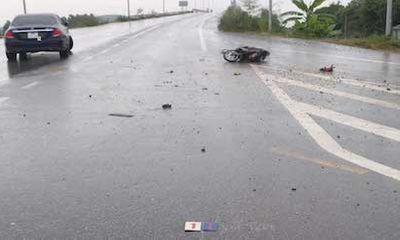 Tin tức tai nạn giao thông mới ngày 27/9: Xe máy va chạm với ô tô ở Việt Yên, một người thiệt mạng