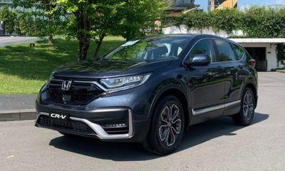 Bảng giá xe ô tô Honda tháng 10/2021: Ưu đãi 100% lệ phí trước bạ xe Honda CR-V với khách hàng trả thẳng