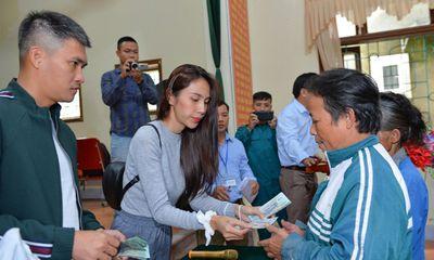 Nghệ An: Một huyện báo cáo số tiền Thuỷ Tiên từ thiện ít hơn so với xác nhận năm 2020