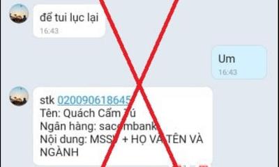 Đại học Sài Gòn cảnh báo chiêu trò dụ tân sinh viên đóng học phí vào tài khoản ngân hàng lạ