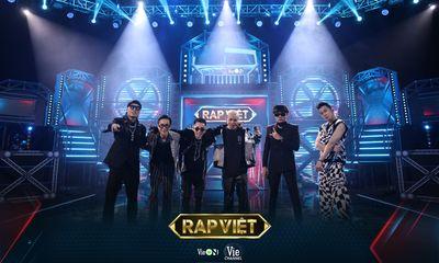 Rap Việt – Mùa 2 come back: Top 1 trending YouTube, gần 500 ngàn lượt xem cùng lúc
