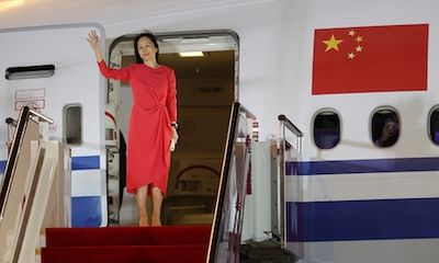 Bà Mạnh Vãn Chu chính thức trở lại làm việc tại Thâm Quyến
