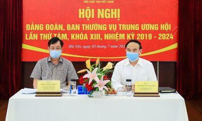 Nhiều nội dung quan trọng tại hội nghị Đảng đoàn, Ban Thường vụ Trung ương hội Luật gia Việt Nam lần thứ tám