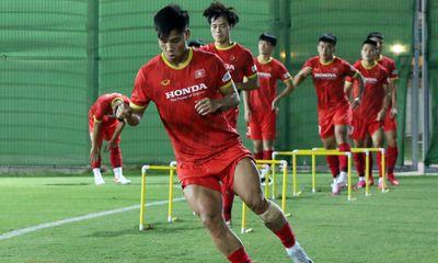 ĐT Việt Nam bước vào buổi tập thứ 2 tại UAE: Đẩy cao khối lượng vận động, Văn Thanh trở lại