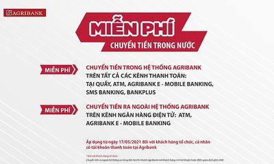 Agribank miễn 100% phí dịch vụ chuyển tiền trong nước