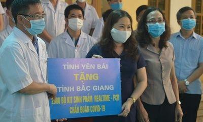 Yên Bái: 15 cán bộ, bác sĩ, nhân viên y tế được cử đến hỗ trợ tỉnh Bắc Giang phòng chống dịch Covid-19
