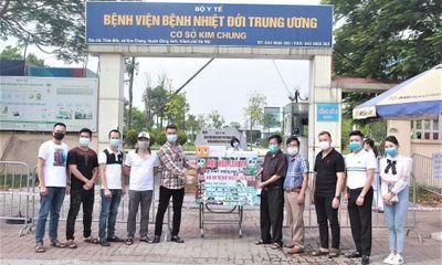 Quỹ phát triển Hoa lan Việt Nam trao trang thiết bị trị giá 1,2 tỷ đồng cho BV Nhiệt đới Trung ương II