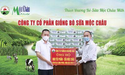 Hơn 50.000 sản phẩm sữa từ Mộc Châu Milk đến với các tâm dịch tại Vĩnh Phúc, Bắc Giang, Sơn La