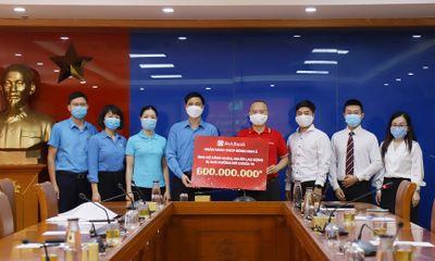 SeABank ủng hộ gần 1,7 tỷ đồng hỗ trợ công nhân, người dân bị ảnh hưởng bởi Covid-19