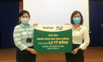 NutiFood và Ông Bầu trao tặng sản phẩm dinh dưỡng trị giá 1,3 tỷ đồng cho CBNV ngành y tế TP.HCM tham gia chống dịch Covid-19