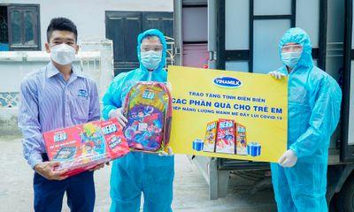Quỹ sữa vươn cao Việt Nam kịp thời đến với trẻ em Điên Biên trong mùa dịch