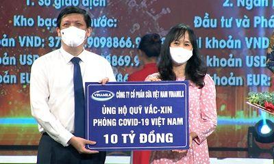 Vinamilk chung tay cùng Chính phủ, góp quỹ Vacxin phòng Covid-19