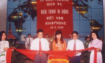 Những dấu mốc ấn tượng trên chặng đường phát triển 25 năm của VinaPhone