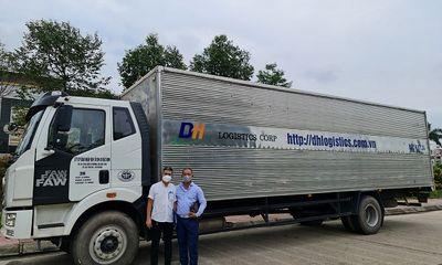 Ấm lòng những chuyến xe 0 đồng của Công ty CP Giao nhận vận tải DH tiếp sức cho Bắc Giang, Bắc Ninh giữa dịch COVID-19