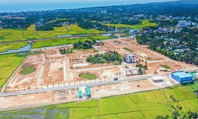 Hoàn thiện tuyến phố thương mại phong cách châu Âu Khu đô thị Phú Mỹ Lộc