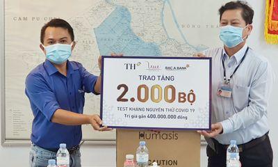 Kinh doanh - BAC A BANK trao tặng 2.000 bộ xét nghiệm nhanh Covid-19 góp sức chống dịch