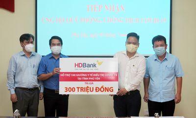 Kinh doanh - HDBank tặng 100 giường y tế cho tỉnh Phú Yên
