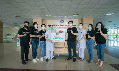 Truyền thông - Thương hiệu - GCOOP Việt Nam trao tặng phần quà trị giá hơn 1,8 tỷ cho các bệnh viện tuyến đầu phòng, chống dịch Covid-19