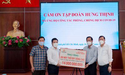 Cần biết - Tập đoàn Hưng Thịnh hỗ trợ khẩn hàng chục tỷ đồng cho TP.Hồ Chí Minh phòng, chống dịch Covid-19