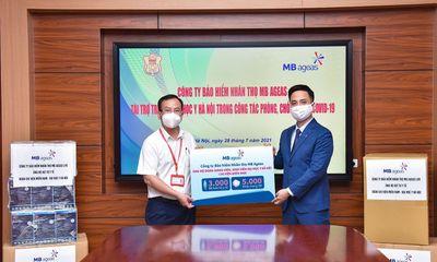 MB Ageas Life ủng hộ 3.000 bộ đồ bảo hộ y tế, 5.000 khẩu trang 3M cho đội ngũ y tế tuyến đầu chống dịch Covid-19