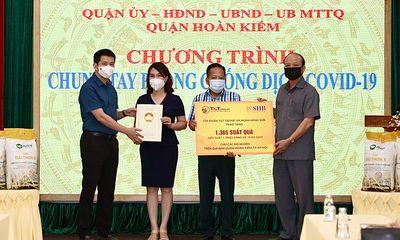 T&T Group và Ngân hàng SHB trao tặng 1.365 suất quà hỗ trợ người nghèo quận Hoàn Kiếm, Hà Nội