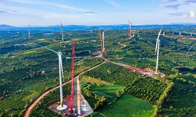 Đắk Lắk: Nhà máy điện gió lớn nhất Việt Nam sắp hoạt động