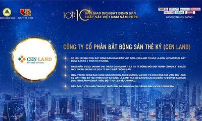 Cen Land đại thắng giải thưởng của Hội môi giới Bất động sản Việt Nam