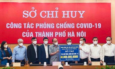 Techcombank trao tặng 15 tỷ hỗ trợ thủ đô Hà Nội chống dịch