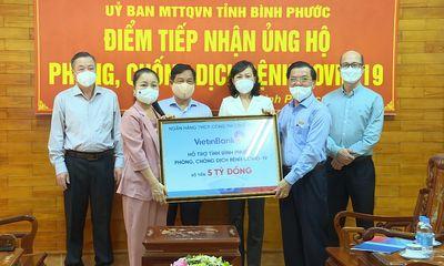 VietinBank ủng hộ 5 tỷ đồng cho Bình Phước phòng, chống dịch COVID-19