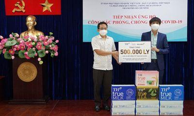 BAC A BANK cùng TẬP ĐOÀN TH trao tặng hơn 500.000 sản phẩm tốt cho sức khỏe tới TP. Hồ Chí Minh, ủng hộ công tác phòng, chống dịch COVID-19