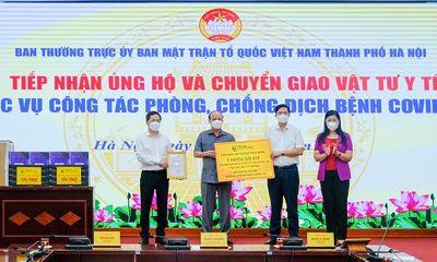 T&T Group trao tặng 1 triệu bộ kit xét nghiệm PCR Covid-19 trị giá 162 tỷ đồng hỗ trợ TP Hà Nội chống dịch