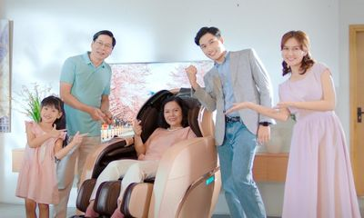 Ghế massage Fujikashi FJ-7000 massage 4D thích hơn cả bàn tay người thật