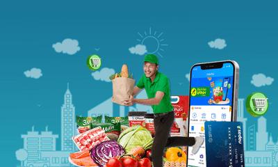 BIDV-ZaloPay tặng voucher 100.000đ cho khách hàng mua sắm tại Bách Hóa Xanh