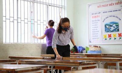 Phòng chống dịch COVID-19, học sinh An Giang dừng đến trường