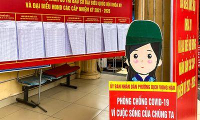 Bộ Y tế chỉ đạo tăng cường phòng chống COVID-19 phục vụ bầu cử