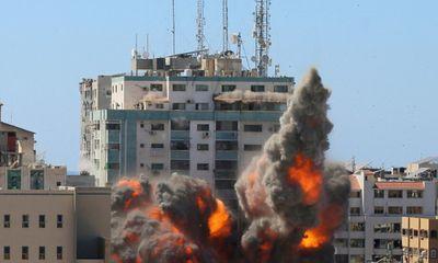 Hé lộ số lượng rocket vô cùng lớn được bắn từ Dải Gaza về phía Israel